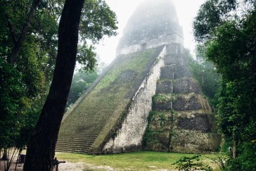 maya tikal pyramid -10