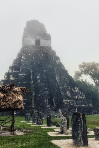 maya tikal pyramid -11