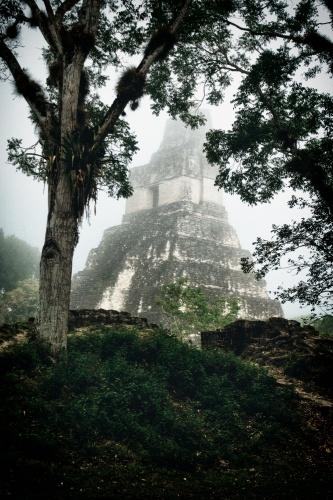 maya tikal pyramid -12