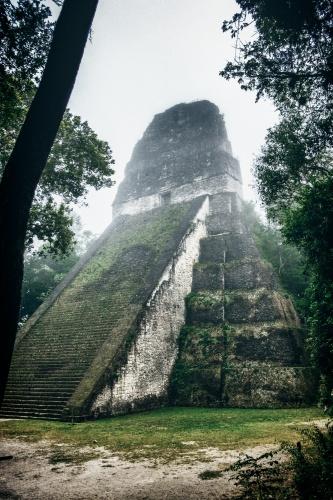 maya tikal pyramid -9